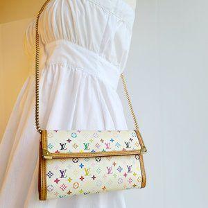 Louis Vuitton Mono Multicolore Porte Tresor wallet